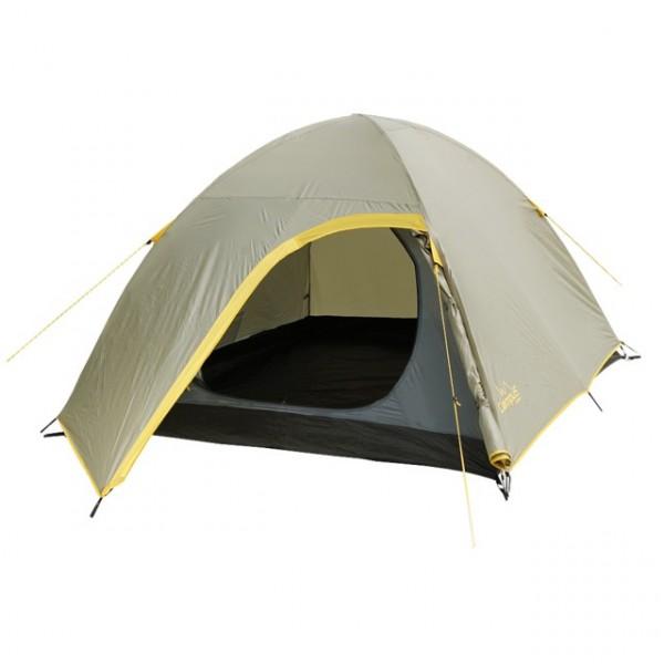 Палатка CAMPUS Antibes-3, цвет: бежевый, желтый