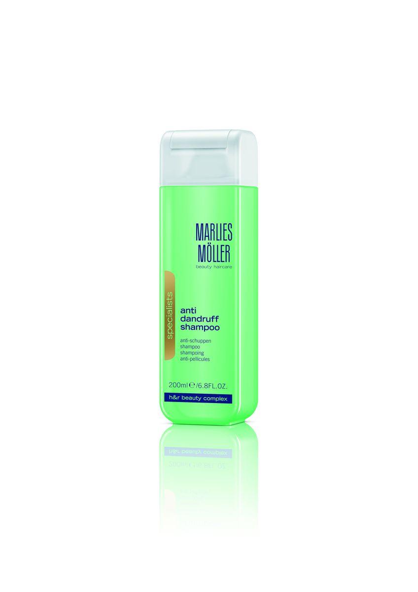 Marlies Moller Specialist Шампунь против перхоти, 200 мл21031MMБорется с перхотью и предотвращает ее появление тщательно очищая и снимая раздражения с кожи головы.