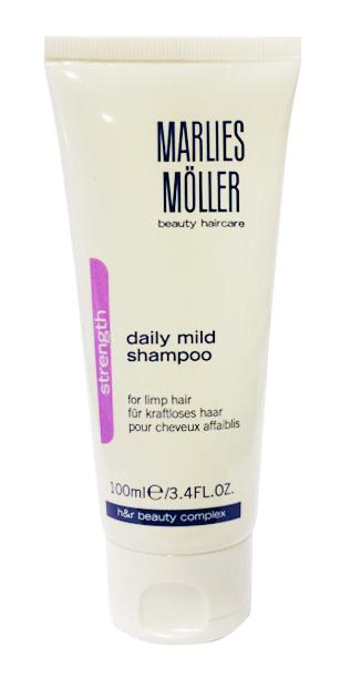Marlies Moller Strength Мягкий шампунь для ежедневного применения, 100 мл25878MMsЗима, холодный или сухой от отопительных приборов воздух... Лето, солнце, соленая морская вода... Наградой будут красивые и ухоженные волосы.