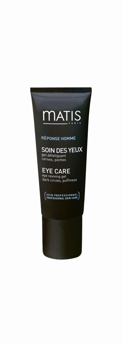 Matis Мужская Линия Гель для кожи вокруг глаз против темных кругов и отеков, 15 мл37916Свежий и лёгкий гель снимает напряжение вокруг контура глаз. Помогает скрыть признаки усталости – отеки и темные круги под глазами. Без отдушки.