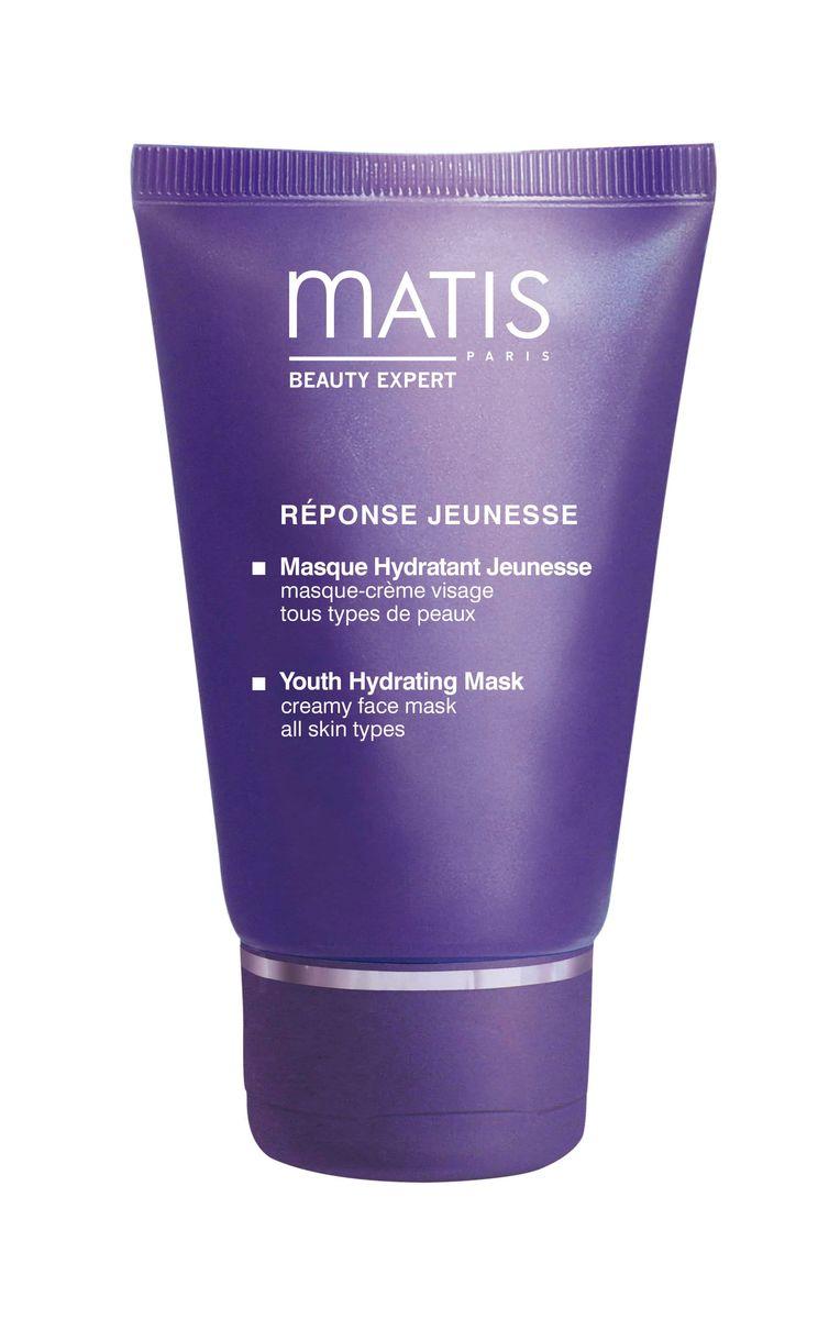 Matis Блеск Молодости Маска увлажняющая Блеск молодости, 50 мл36590Увлажняющая маска для кожи, нуждающейся в интенсивном увлажнении. Активные ингредиенты оптимизируют запас влаги в клетках кожи. Идеально увлажненная кожа вновь обретает комфорт и эластичность. Цвет кожи яркий и сияющий. Интенсивное увлажнение продолжительного действия: +51% через 30 минут после нанесения +33% через 8 часов после нанесения Благодаря высокому содержанию антиоксидантов маска не только мгновенно увлажняет кожу, но и сохраняет ее молодость, предупреждает старение.