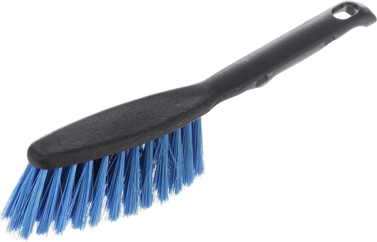 Щетка-сметка Centi Clip, цвет: черный, синий6003_черный,синийЩетка-сметка Centi Clip, изготовленная из прочного пластика и сложных полимеров, оснащена специальным отверстием для подвешивания. Изделие станет незаменимым помощником в деле удаления пыли и мусора с различных поверхностей. Эластичный жесткий ворс на щетке не оставит от грязи и следа. Длина ворса: 5 см. Размер рабочей части: 14 х 5 см. Длина щетки: 28 см.