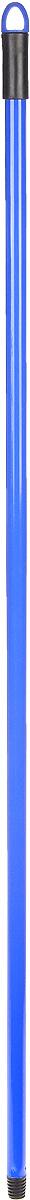 Рукоятка металлическая Banat, цвет: синий, длина 120 см780223_синийРукоятка Banat изготовлена из металла с цветным покрытием. Предназначена для крепления различных насадок и швабр. Снабжена отверстием для подвеса. Имеет стандартную резьбу, подходящую к большинству видов насадок. Диаметр рукоятки: 2 см. Длина рукоятки: 120 см.
