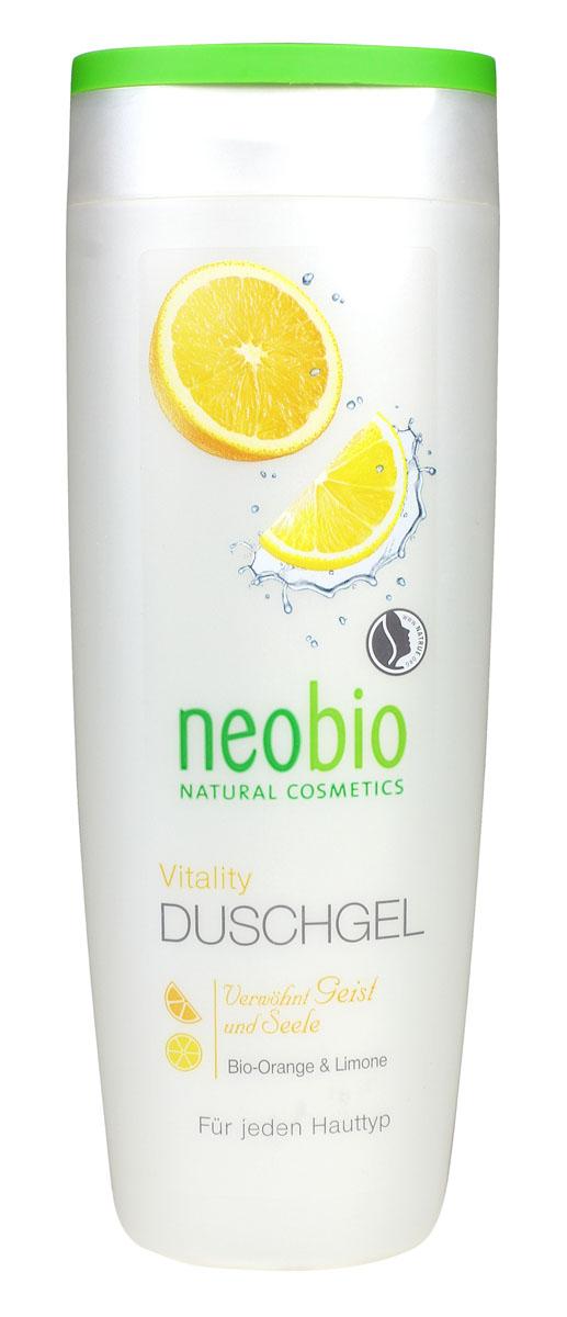 NEOBIO Гель для душа Жизненная сила, 250 мл62332NEOBIO гель для душа ЖИЗНЕННАЯ СИЛА с био-апельсином и био-лимоном. Начните свой день с бодрящего запаха цитрусовых! Аромат лимона и апельсина подарит хорошее настроение, а органические экстракты, входящие в состав геля, надолго увлажнят вашу кожу. Мягкие растительные тензиды геля для душа NEOBIO обеспечат интенсивный и бережный уход.