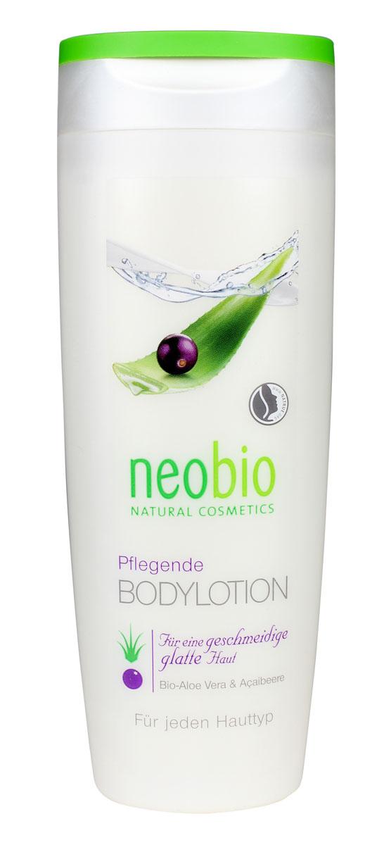 NEOBIO Увлажняющий лосьон для тела, 250 мл62334NEOBIO увлажняющий лосьон для тела с био-алоэ и био-асаи. Сохраняет оптимальный уровень увлажненности кожи. Приятная текстура лосьона для тела с маслом био-ши и био-соевым маслом идеальна для полноценного ухода за всеми типами кожи. Экстракты био-алоэ и био-асаи придают коже мягкость, гладкость и эластичность. После применения лосьона на теле остается легкий свежий аромат. Рекомендуем использовать после применения геля для душа NEOBIO