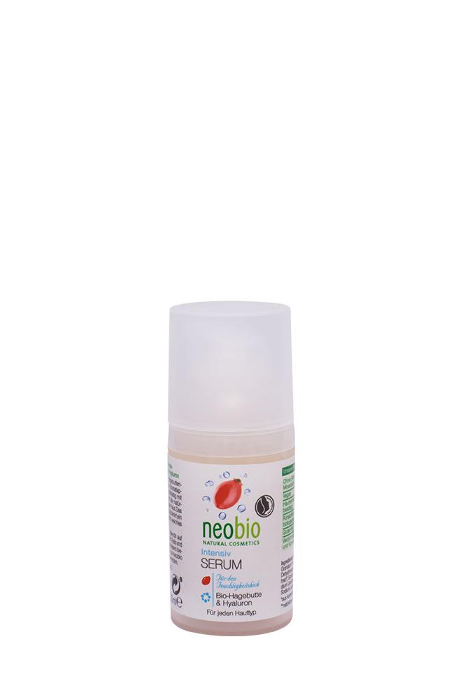 NEOBIO Интенсивная сыворотка для лица, 30 мл62371NEOBIO интенсивная сыворотка для лица с био-шиповником и гиалуроновой кислотой. Для всех типов кожи. Интенсивный уход с био-экстрактом шиповника, гиалуроновой кислотой и био-экстрактом гранатового сока обеспечивает коже длительное увлажнение и поддерживает природный баланс влаги. Сыворотка быстро впитывается и дарит коже приятное ощущение мягкости и бархатистости.