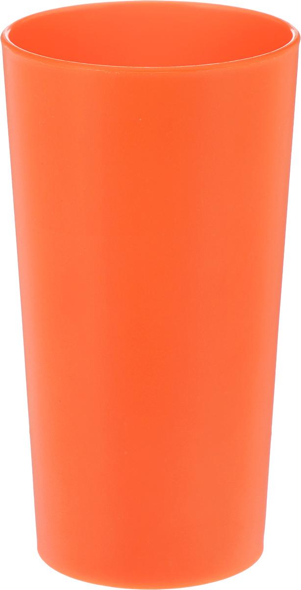 Стакан Ucsan, цвет: оранжевый, 430 млM-213_оранжевыйСтакан Ucsan изготовлен из прочного высококачественного полипропилена. Изделие предназначено для воды, сока и других напитков. Стакан сочетает в себе яркий дизайн и функциональность. Благодаря такому стакану, пить напитки будет еще вкуснее. Стакан Ucsan можно использовать дома, на даче или на пикнике. Диаметр стакана (по верхнему краю): 7,5 см. Высота стакана: 14 см. Диаметр основания: 6 см.