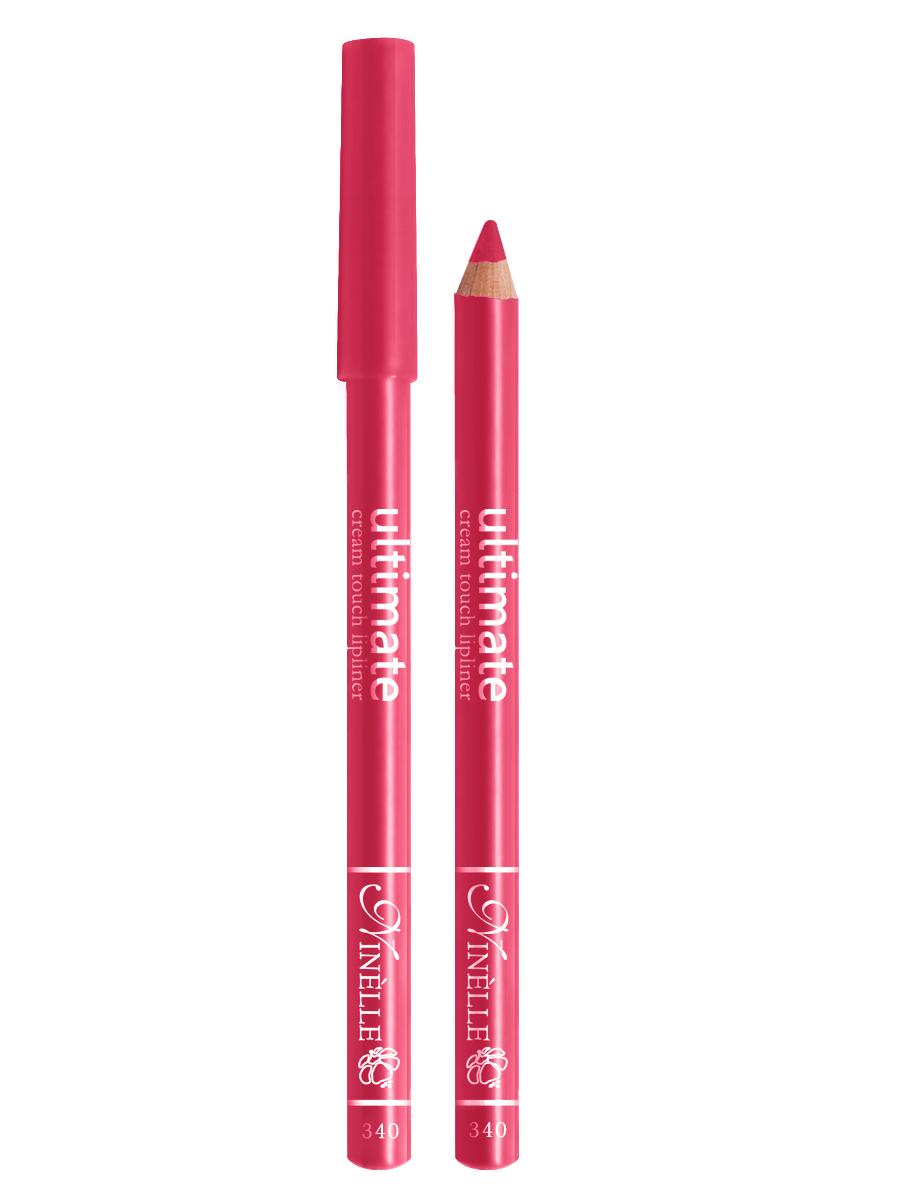 Ninelle Карандаш для губ Ultimate №340, 1,5 г1051N10760Мягкий карандаш для создания идеального контура губ. Контурный карандаш с приятной, кремовой текстурой обогащен маслами и восками, смягчающими и питающими губы. Карандаш очень долго держится на губах. Позволяет моделировать контур губ, повышает стойкость губной помады или блеска, может наноситься на всю поверхность губ вместо помады. Предотвращает растекание помады или блеска.