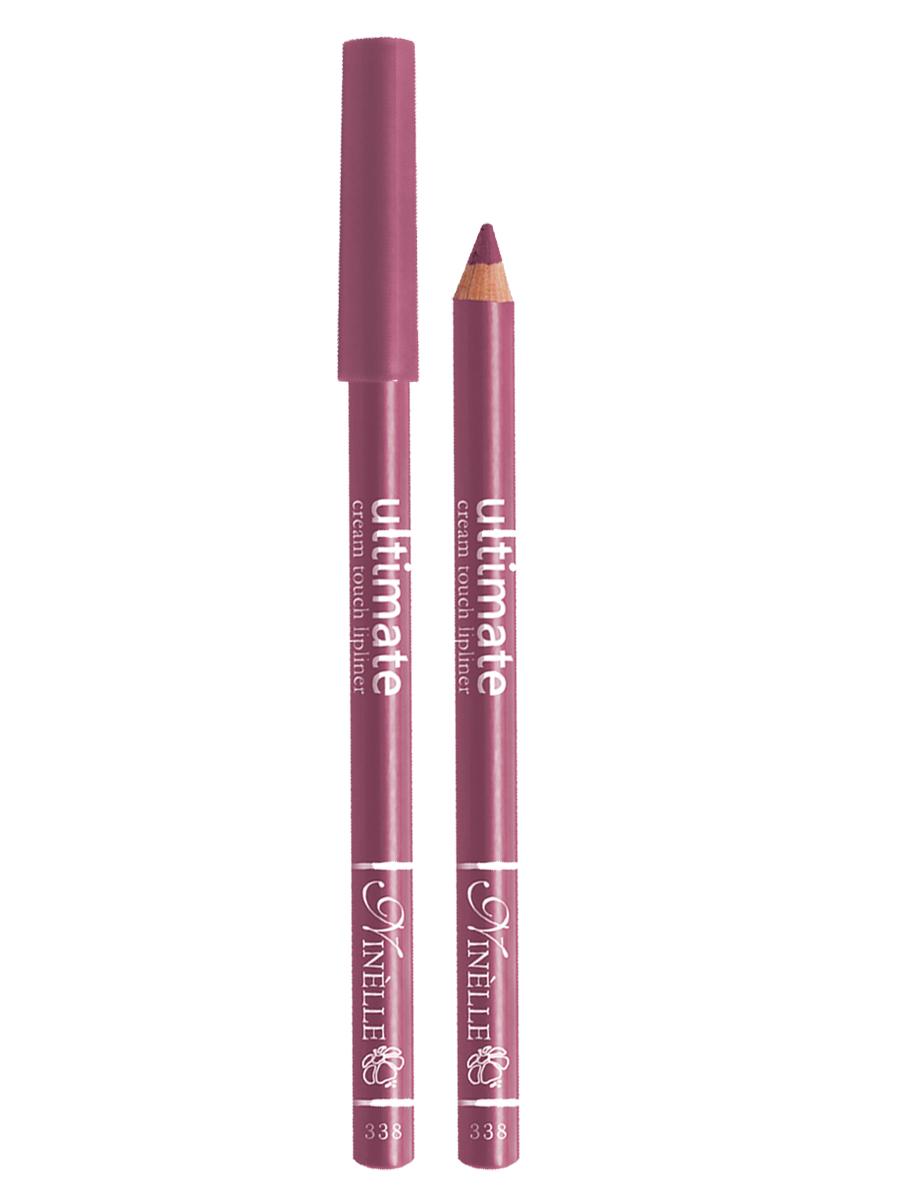Ninelle Карандаш для губ Ultimate №338, 1,5 г1049N10758Мягкий карандаш для создания идеального контура губ. Контурный карандаш с приятной, кремовой текстурой обогащен маслами и восками, смягчающими и питающими губы. Карандаш очень долго держится на губах. Позволяет моделировать контур губ, повышает стойкость губной помады или блеска, может наноситься на всю поверхность губ вместо помады. Предотвращает растекание помады или блеска.