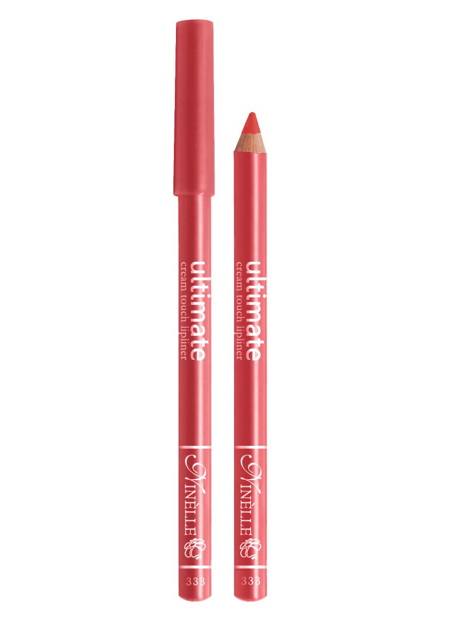 Ninelle Карандаш для губ Ultimate №333, 1,5 г1044N10753Мягкий карандаш для создания идеального контура губ. Контурный карандаш с приятной, кремовой текстурой обогащен маслами и восками, смягчающими и питающими губы. Карандаш очень долго держится на губах. Позволяет моделировать контур губ, повышает стойкость губной помады или блеска, может наноситься на всю поверхность губ вместо помады. Предотвращает растекание помады или блеска.