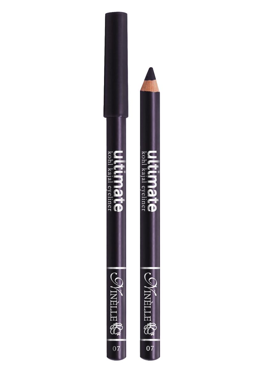Ninelle Карандаш для глаз Ultimate №07, 1,5 г1058N10767Мягкий и гладкий карандаш для глаз с шелковистой текстурой, позволяющий нарисовать четкую или слегка растушеванную линию. С помощью мягкого карандаша- каяла можно подводить верхнее, нижнее, а также внутреннее веко.