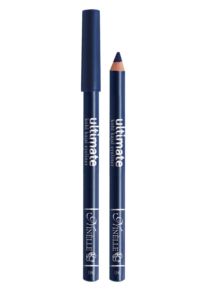 Ninelle Карандаш для глаз Ultimate №06, 1,5 г1057N10766Мягкий и гладкий карандаш для глаз с шелковистой текстурой, позволяющий нарисовать четкую или слегка растушеванную линию. С помощью мягкого карандаша- каяла можно подводить верхнее, нижнее, а также внутреннее веко.