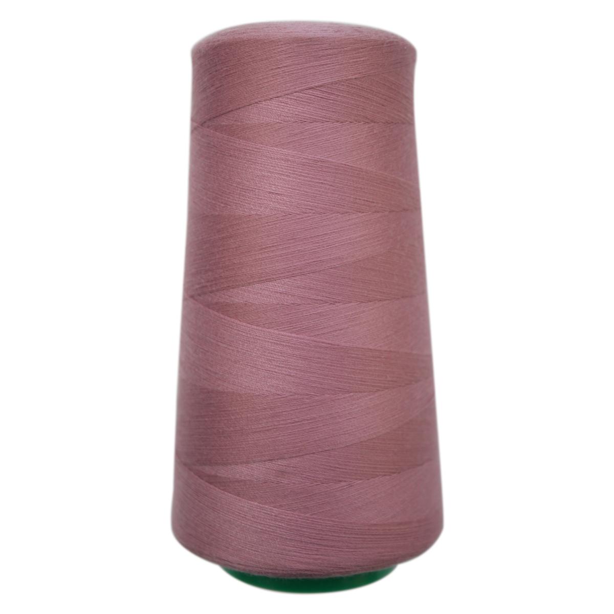 Нитки для шитья Bestex 50/2, 5000 ярд, цвет: грязно-розовый (037)7700936-037Сфера использования: трикотаж; ткани малого веса; оверлочные швы; отделка краев; вышивка. Размер игл №70-80