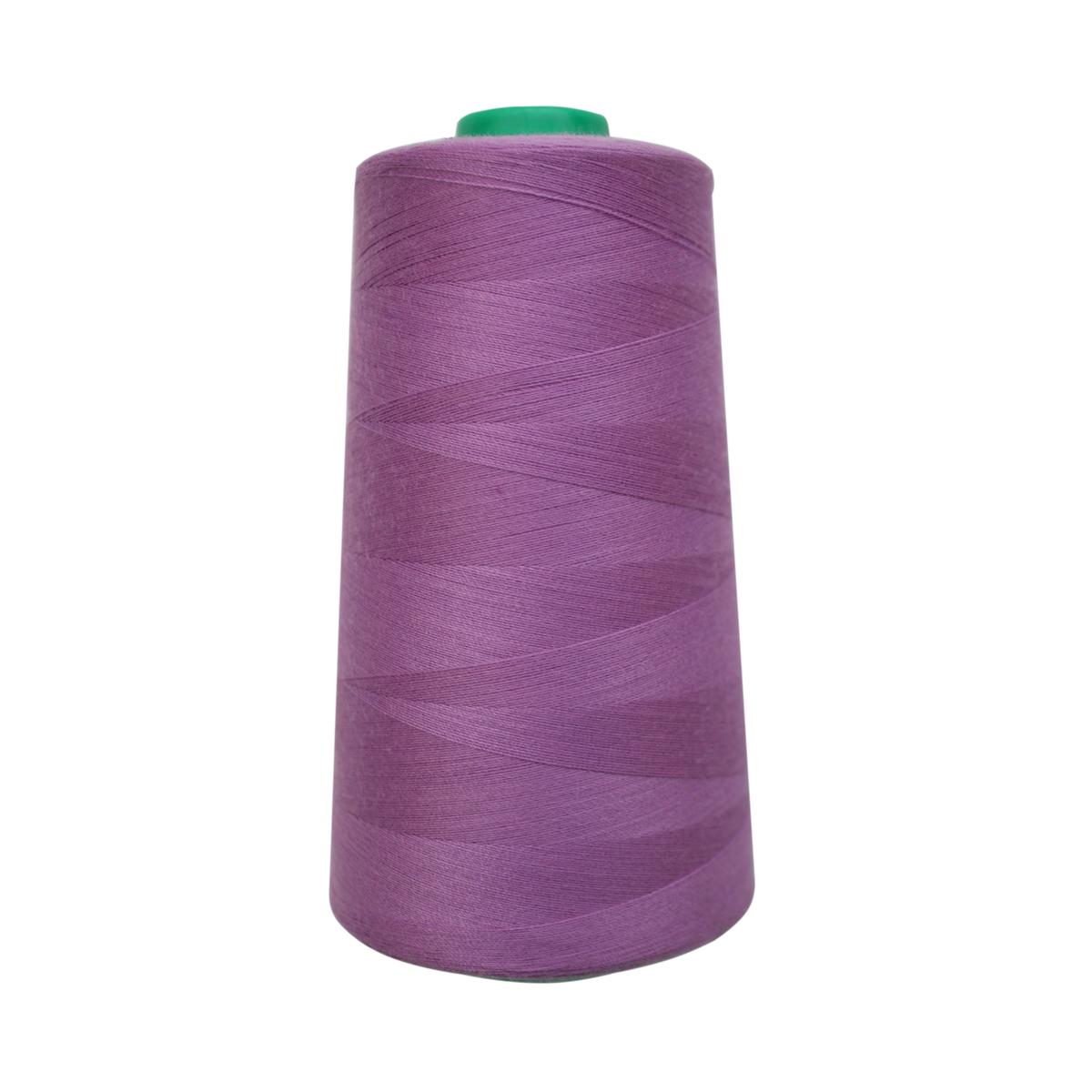 Нитки для шитья Bestex 50/2, 5000 ярд, цвет: св.сирень (067)7700936-067Сфера использования: трикотаж; ткани малого веса; оверлочные швы; отделка краев; вышивка. Размер игл №70-80