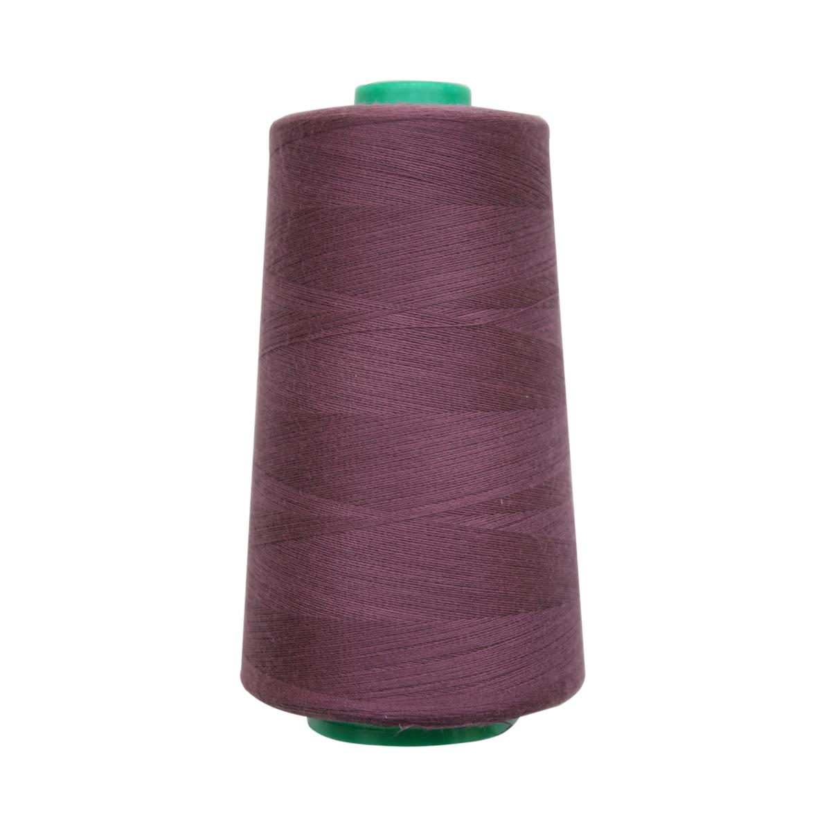 Нитки для шитья Bestex 50/2, 5000 ярд, цвет: св.сливовый (077)7700936-077Сфера использования: трикотаж; ткани малого веса; оверлочные швы; отделка краев; вышивка. Размер игл №70-80