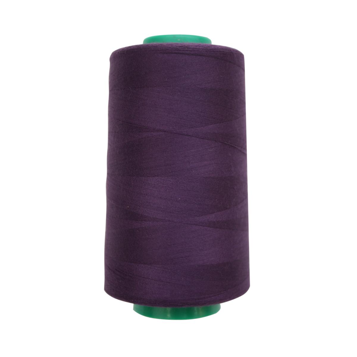 Нитки для шитья Bestex 50/2, 5000 ярд, цвет: баклажан (081)7700936-081Сфера использования: трикотаж; ткани малого веса; оверлочные швы; отделка краев; вышивка. Размер игл №70-80