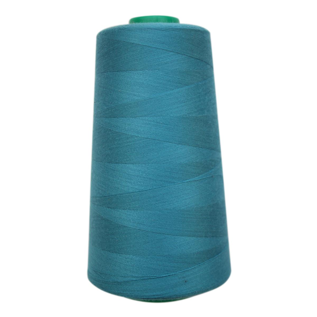 Нитки для шитья Bestex 50/2, 5000 ярд, цвет: св.морская-волна (110)7700936-110Сфера использования: трикотаж; ткани малого веса; оверлочные швы; отделка краев; вышивка. Размер игл №70-80