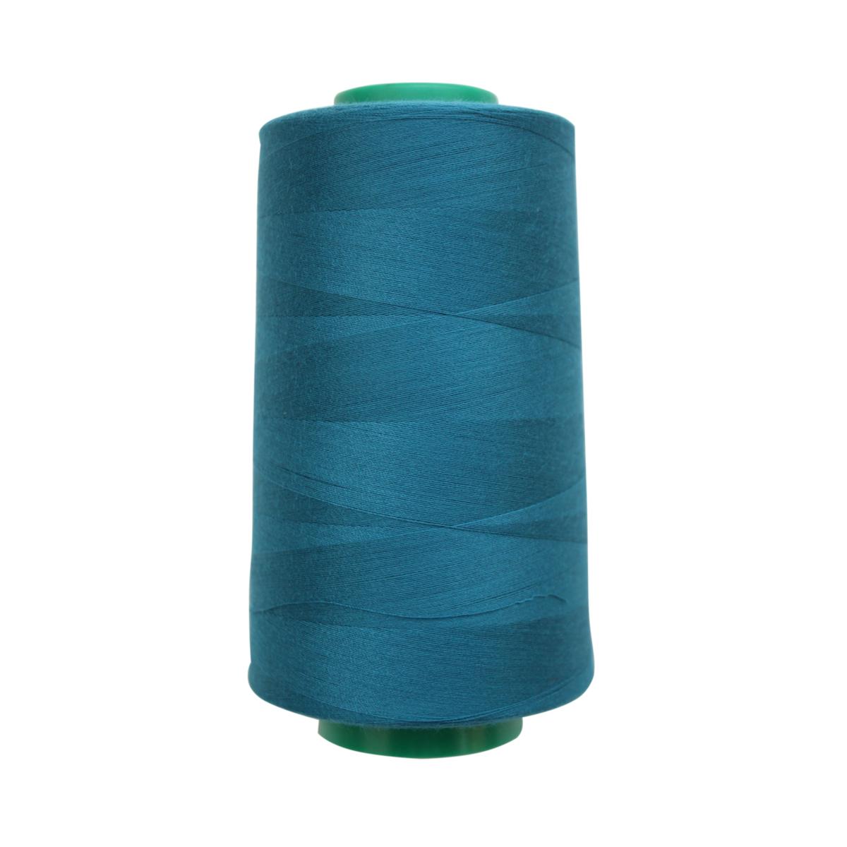 Нитки для шитья Bestex 50/2, 5000 ярд, цвет: ярк.сапфир (112)7700936-112Сфера использования: трикотаж; ткани малого веса; оверлочные швы; отделка краев; вышивка. Размер игл №70-80