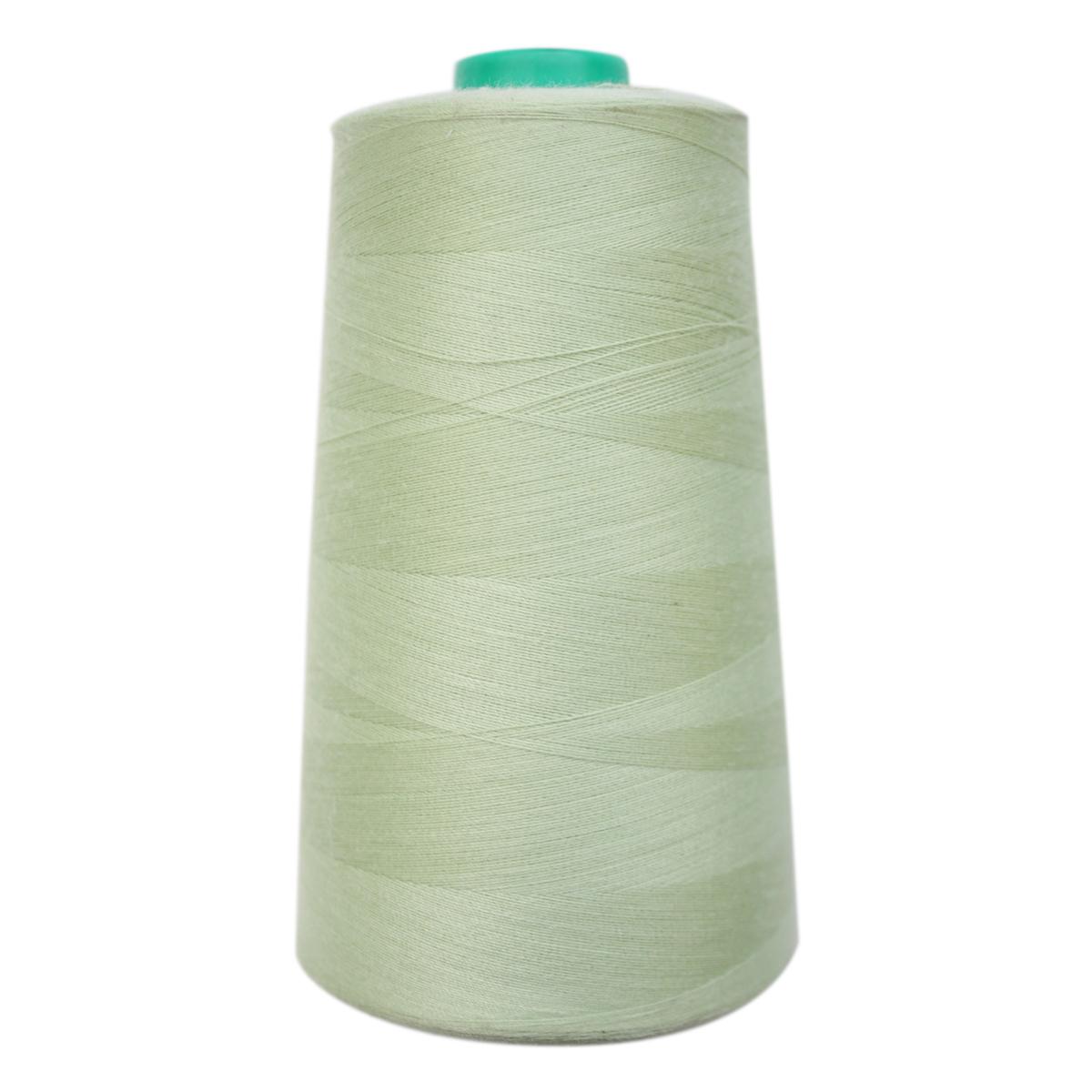 Нитки для шитья Bestex 50/2, 5000 ярд, цвет: св.салатовый (122)7700936-122Сфера использования: трикотаж; ткани малого веса; оверлочные швы; отделка краев; вышивка. Размер игл №70-80