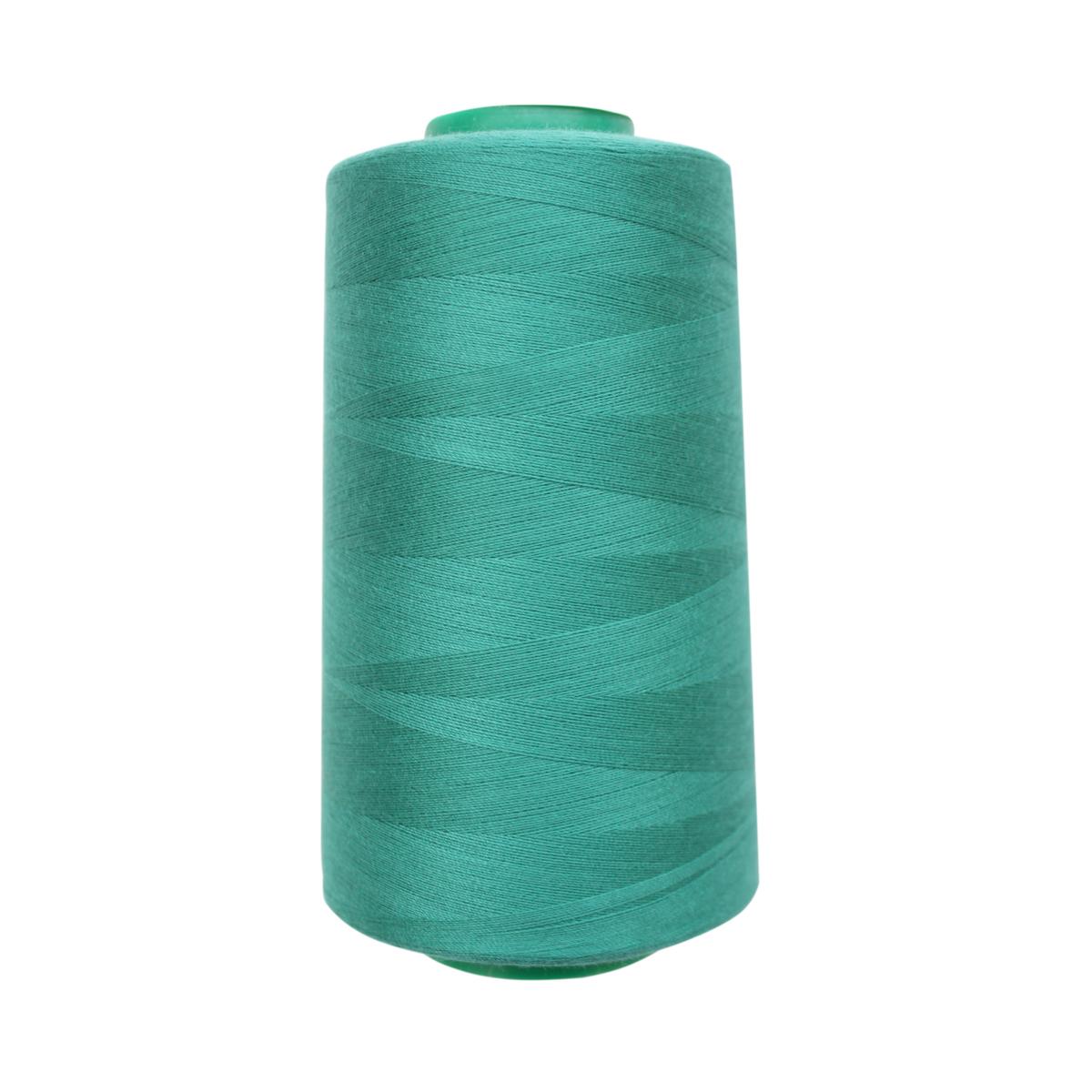 Нитки для шитья Bestex 50/2, 5000 ярд, цвет: ярк.малахит (128)7700936-128Сфера использования: трикотаж; ткани малого веса; оверлочные швы; отделка краев; вышивка. Размер игл №70-80