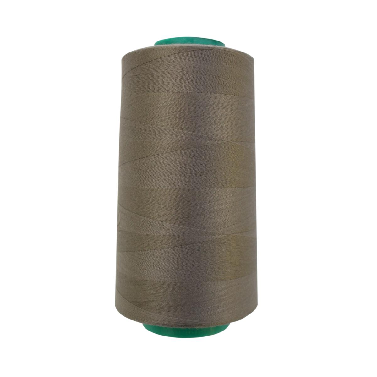 Нитки для шитья Bestex 50/2, 5000 ярд, цвет: серый (164)7700936-164Сфера использования: трикотаж; ткани малого веса; оверлочные швы; отделка краев; вышивка. Размер игл №70-80