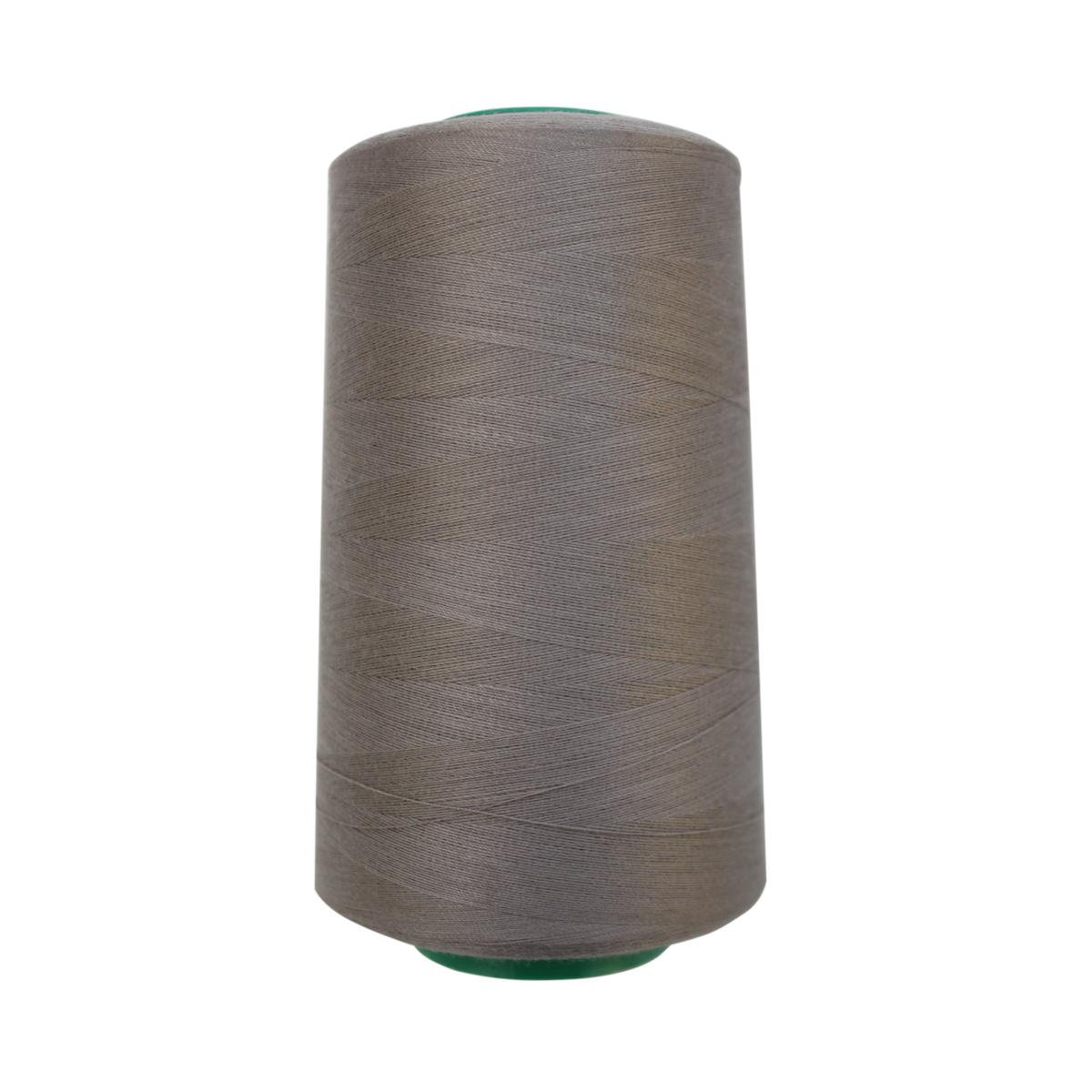 Нитки для шитья Bestex 50/2, 5000 ярд, цвет: серый.дым (174)7700936-174Сфера использования: трикотаж; ткани малого веса; оверлочные швы; отделка краев; вышивка. Размер игл №70-80