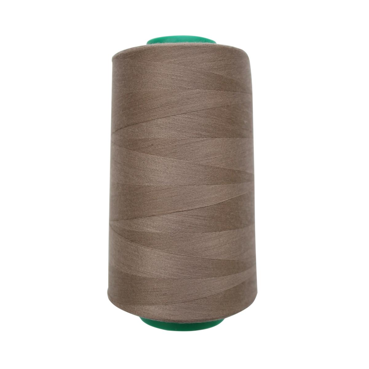 Нитки для шитья Bestex 50/2, 5000 ярд, цвет: коричневый.дым (175)7700936-175Сфера использования: трикотаж; ткани малого веса; оверлочные швы; отделка краев; вышивка. Размер игл №70-80