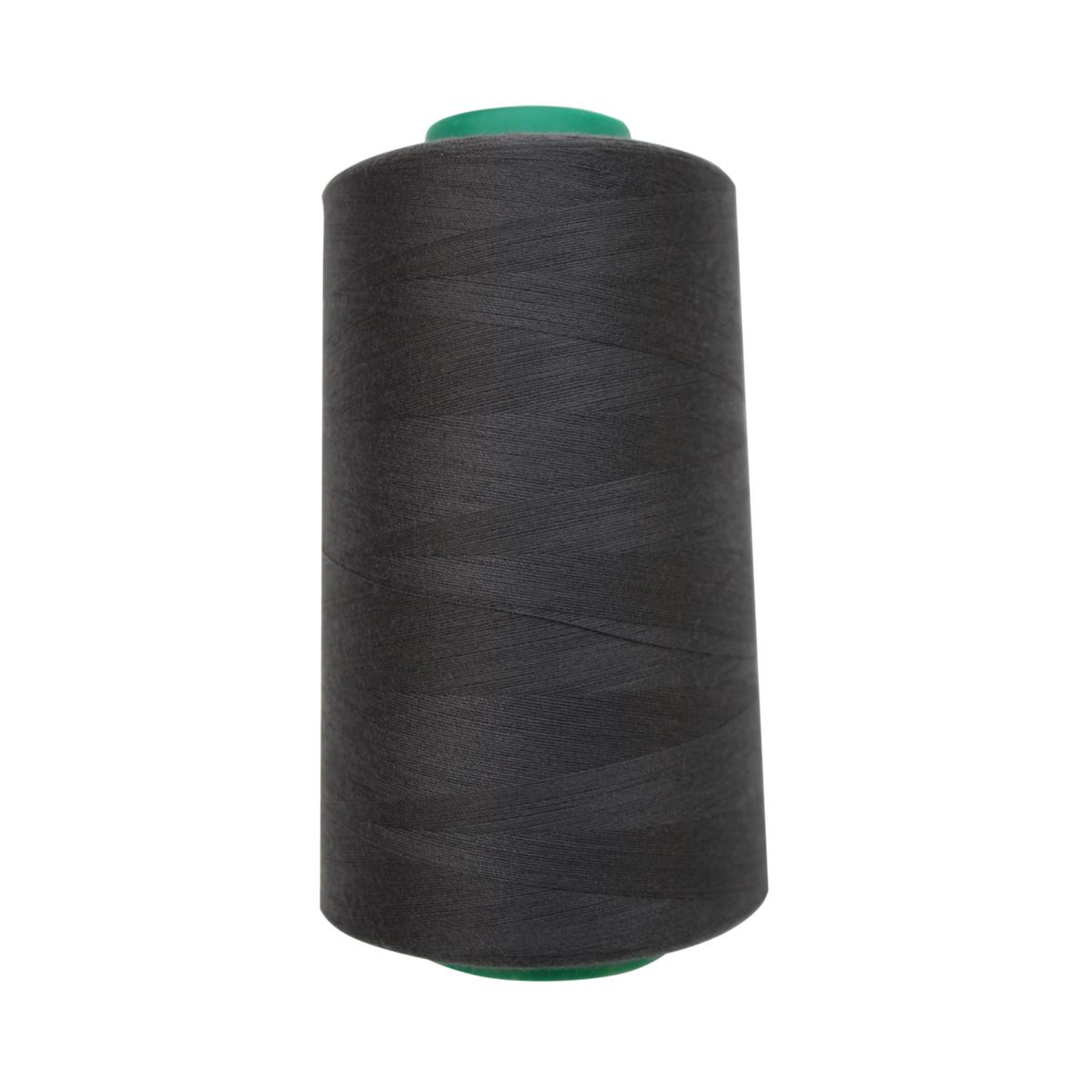 Нитки для шитья Bestex 50/2, 5000 ярд, цвет: т.т.сажа (188)7700936-188Сфера использования: трикотаж; ткани малого веса; оверлочные швы; отделка краев; вышивка. Размер игл №70-80