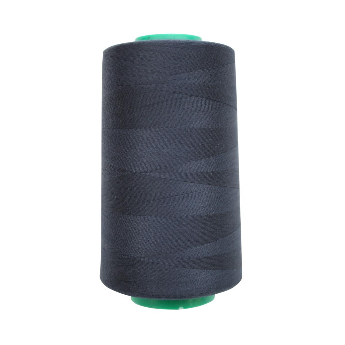 Нитки для шитья Bestex 50/2, 5000 ярд, цвет: т.чернильный (194)7700936-194Сфера использования: трикотаж; ткани малого веса; оверлочные швы; отделка краев; вышивка. Размер игл №70-80