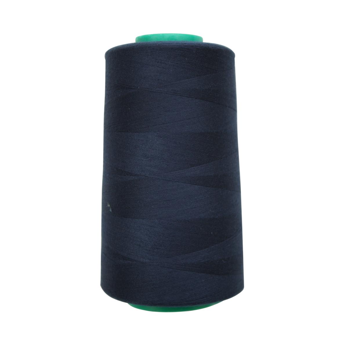 Нитки для шитья Bestex 50/2, 5000 ярд, цвет: чернильный (199)7700936-199Сфера использования: трикотаж; ткани малого веса; оверлочные швы; отделка краев; вышивка. Размер игл №70-80