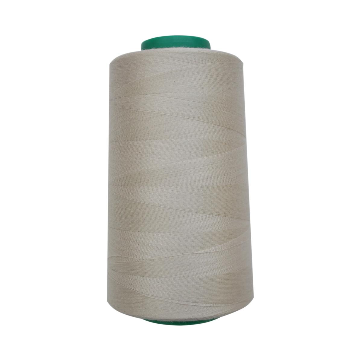 Нитки для шитья Bestex 50/2, 5000 ярд, цвет: бело-серый (205)7700936-205Сфера использования: трикотаж; ткани малого веса; оверлочные швы; отделка краев; вышивка. Размер игл №70-80