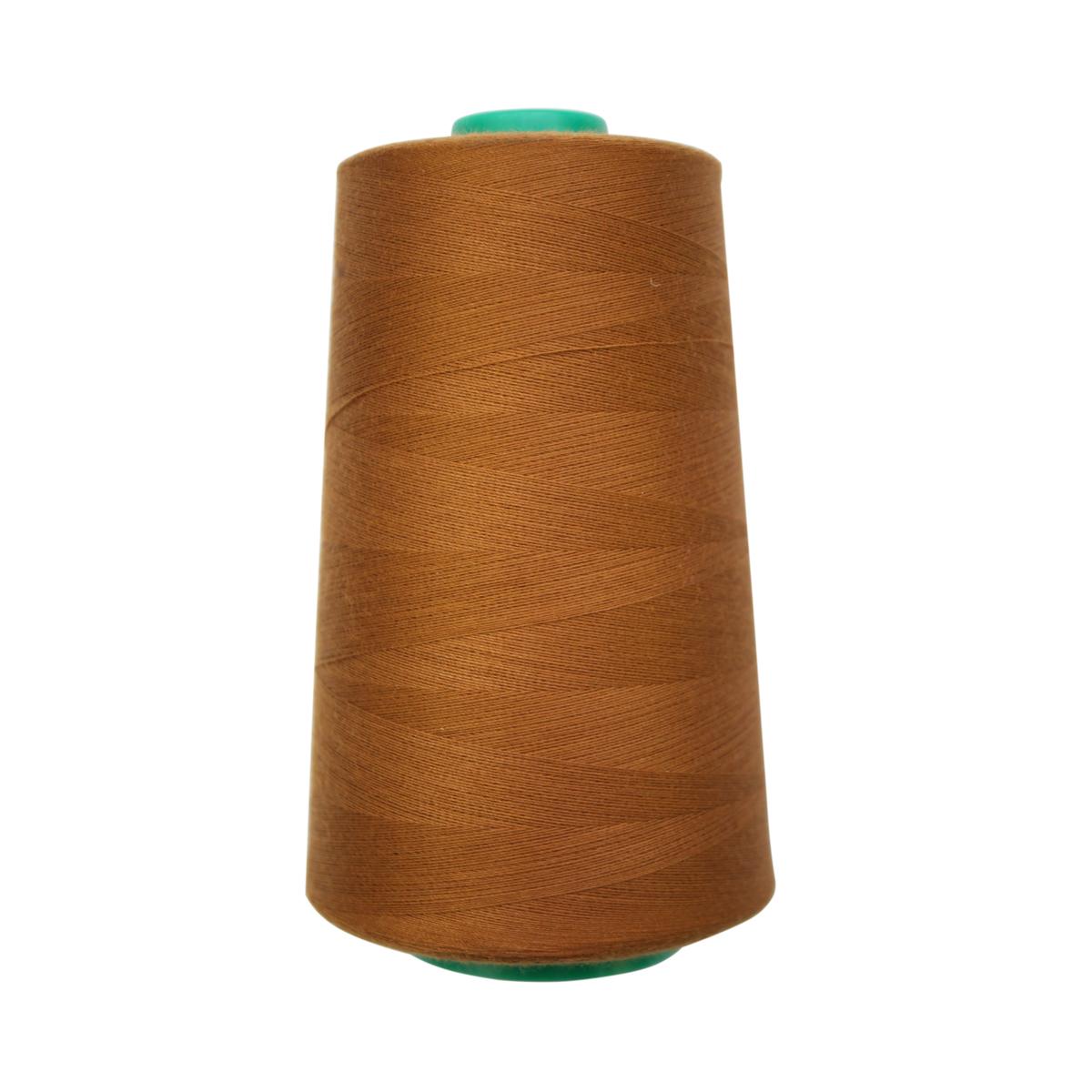 Нитки для шитья Bestex 50/2, 5000 ярд, цвет: оливково-коричневый (220)7700936-220Сфера использования: трикотаж; ткани малого веса; оверлочные швы; отделка краев; вышивка. Размер игл №70-80