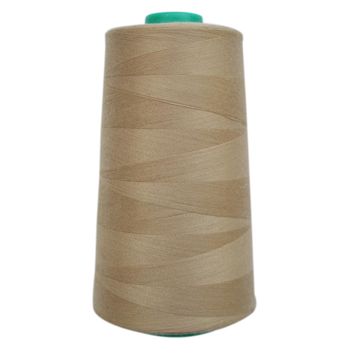 Нитки для шитья Bestex 50/2, 5000 ярд, цвет: св.бежевый (226)7700936-226Сфера использования: трикотаж; ткани малого веса; оверлочные швы; отделка краев; вышивка. Размер игл №70-80
