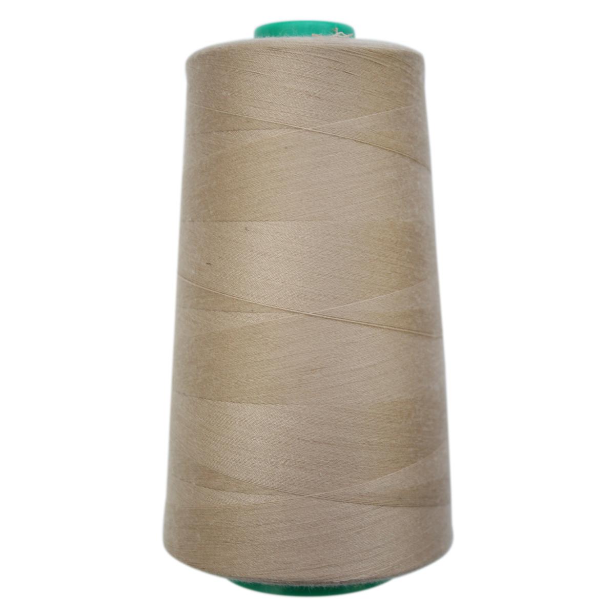 Нитки для шитья Bestex 50/2, 5000 ярд, цвет: т.бежевый.пепел (231)7700936-231Сфера использования: трикотаж; ткани малого веса; оверлочные швы; отделка краев; вышивка. Размер игл №70-80