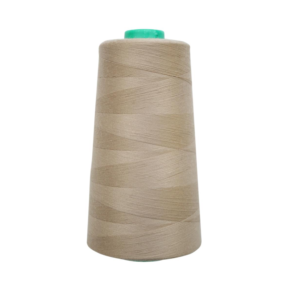 Нитки для шитья Bestex 50/2, 5000 ярд, цвет: серо-пастельно-болотный (251)7700936-251Сфера использования: трикотаж; ткани малого веса; оверлочные швы; отделка краев; вышивка. Размер игл №70-80