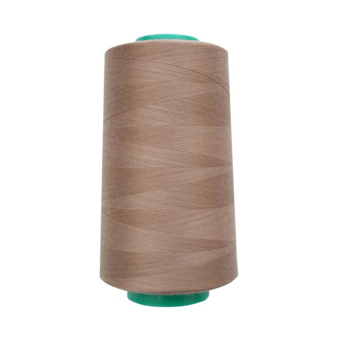 Нитки для шитья Bestex 50/2, 5000 ярд, цвет: т.ореховый (261)7700936-261Сфера использования: трикотаж; ткани малого веса; оверлочные швы; отделка краев; вышивка. Размер игл №70-80