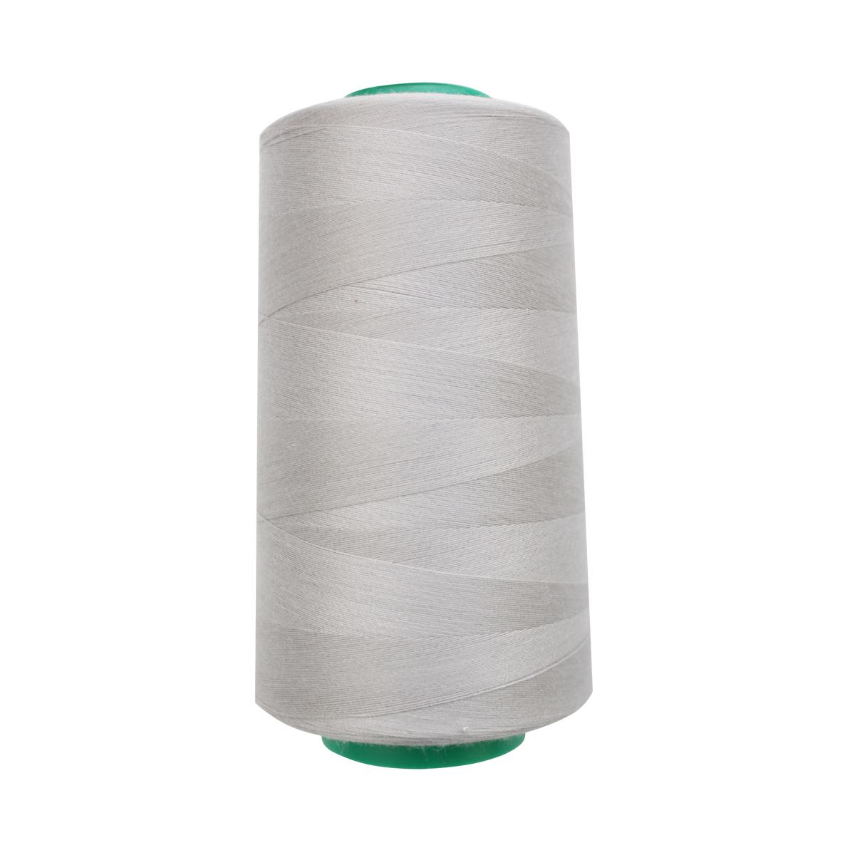 Нитки для шитья Bestex 50/2, 5000 ярд, цвет: серо-пепельный (265)7700936-265Сфера использования: трикотаж; ткани малого веса; оверлочные швы; отделка краев; вышивка. Размер игл №70-80