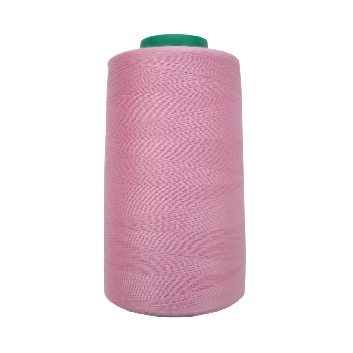 Нитки для шитья Bestex 50/2, 5000 ярд, цвет: розово-сиреневый (293)7700936-293Сфера использования: трикотаж; ткани малого веса; оверлочные швы; отделка краев; вышивка. Размер игл №70-80