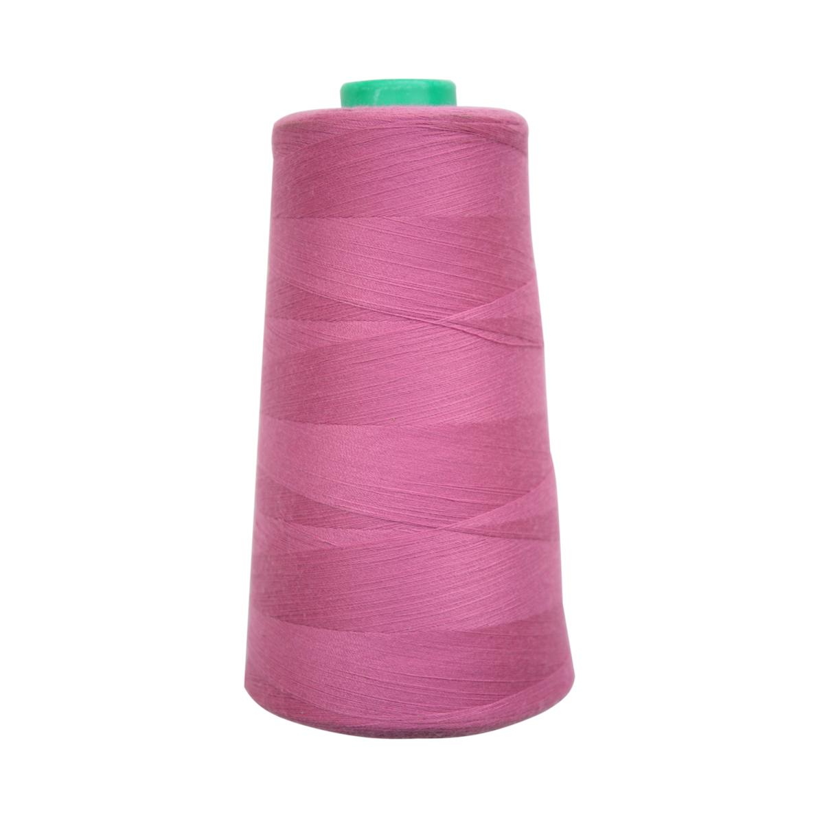 Нитки для шитья Bestex 50/2, 5000 ярд, цвет: т.фуксия (296)7700936-296Сфера использования: трикотаж; ткани малого веса; оверлочные швы; отделка краев; вышивка. Размер игл №70-80