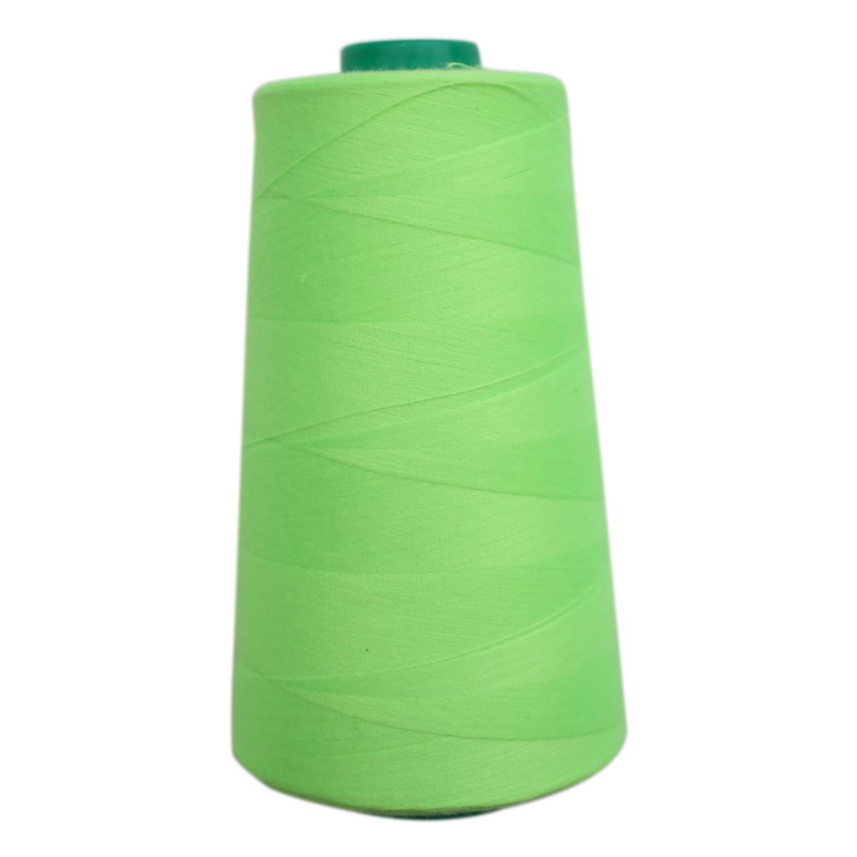 Нитки для шитья Bestex 50/2, 5000 ярд, цвет: лайм (304)7700936-304Сфера использования: трикотаж; ткани малого веса; оверлочные швы; отделка краев; вышивка. Размер игл №70-80