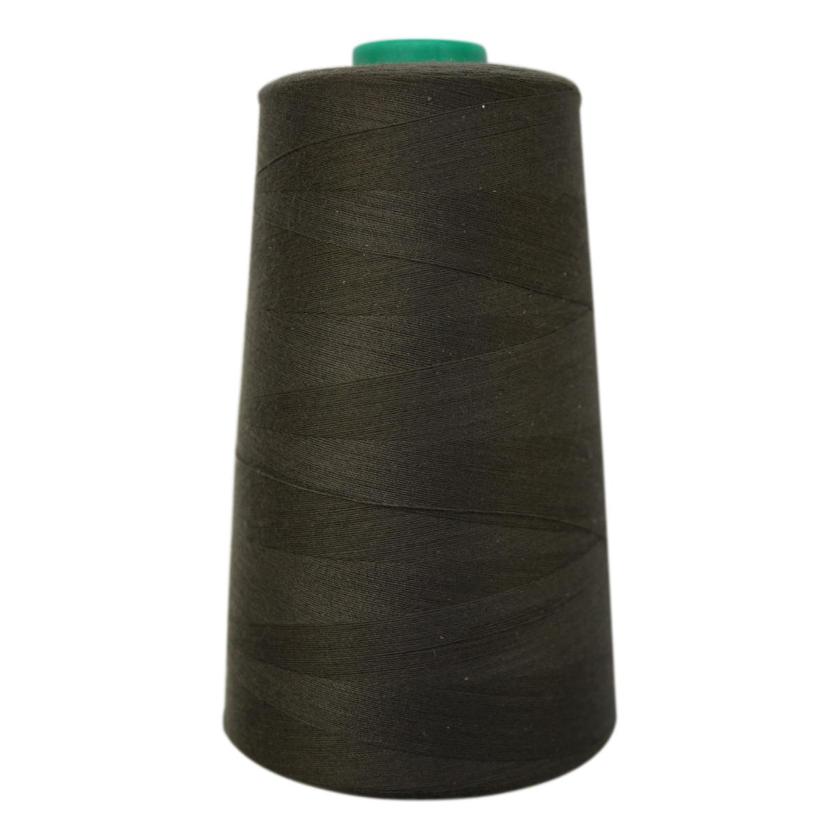 Нитки для шитья Bestex 50/2, 5000 ярд, цвет: т.болотный (345)7700936-345Сфера использования: трикотаж; ткани малого веса; оверлочные швы; отделка краев; вышивка. Размер игл №70-80