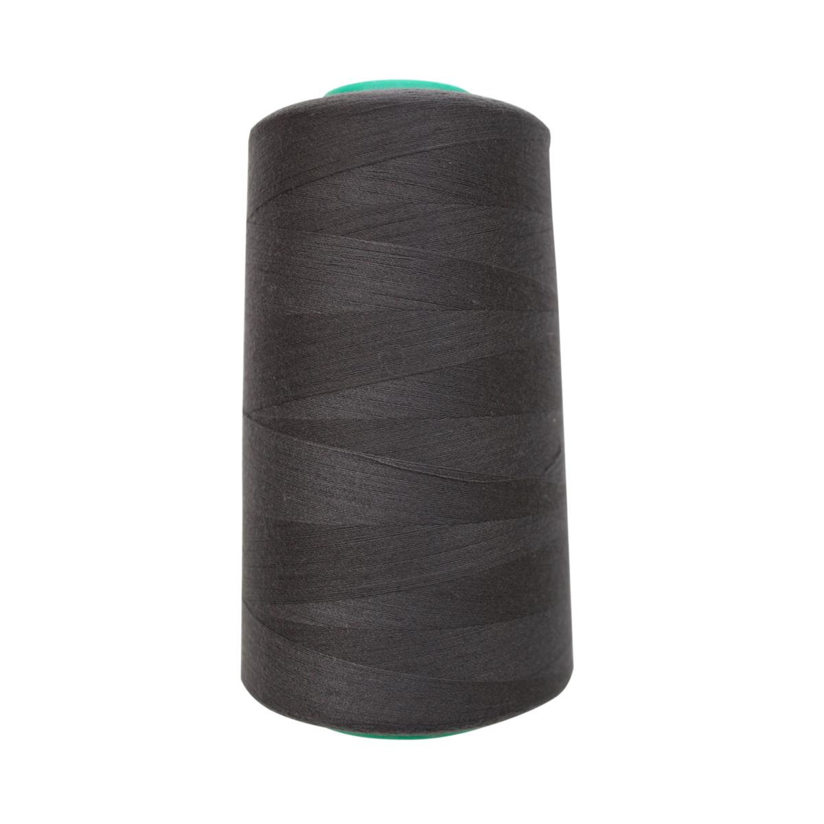 Нитки для шитья Bestex 50/2, 5000 ярд, цвет: серо-асфальтовый (384)7700936-384Сфера использования: трикотаж; ткани малого веса; оверлочные швы; отделка краев; вышивка. Размер игл №70-80