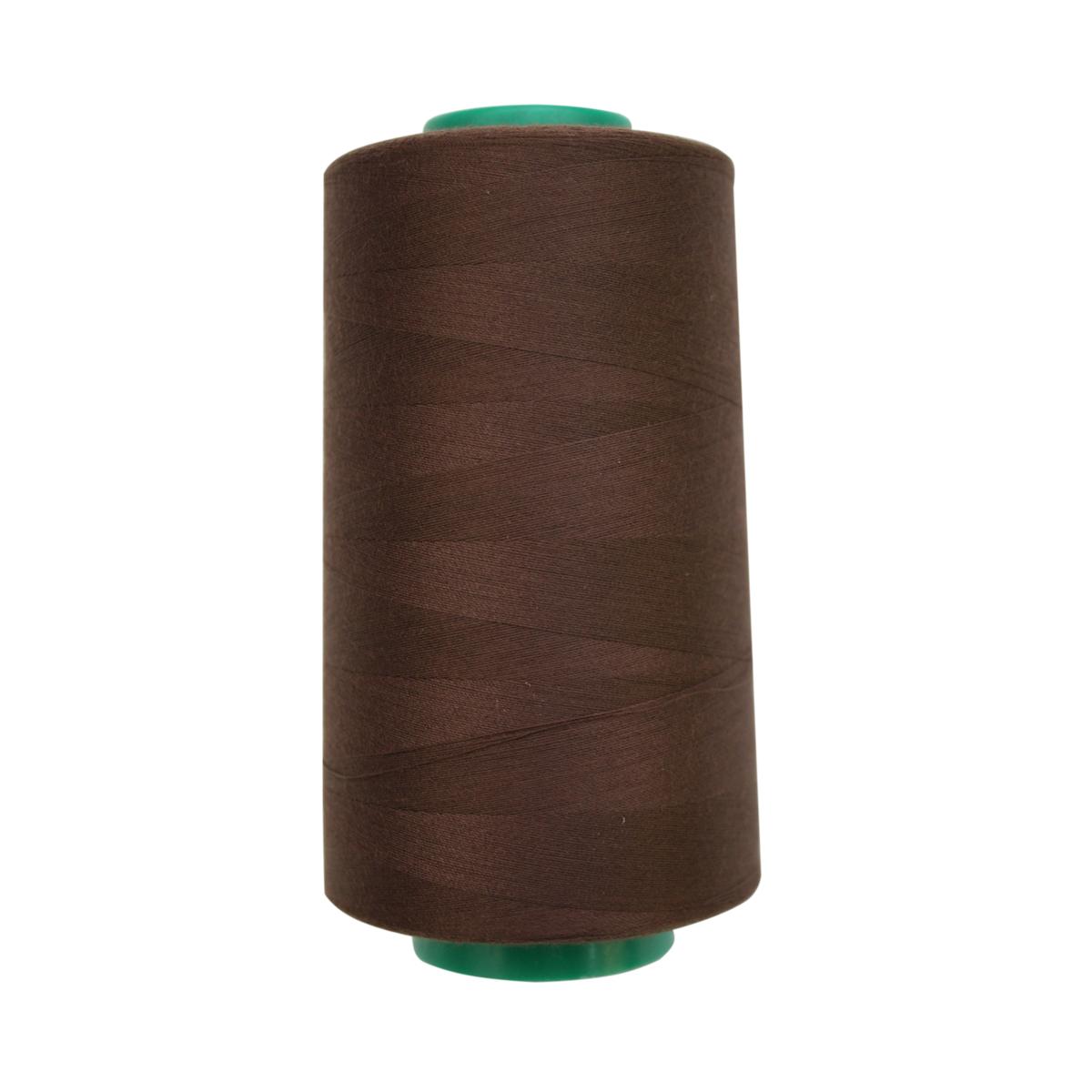 Нитки для шитья Bestex 50/2, 5000 ярд, цвет: т.т.шоколад (385)7700936-385Сфера использования: трикотаж; ткани малого веса; оверлочные швы; отделка краев; вышивка. Размер игл №70-80