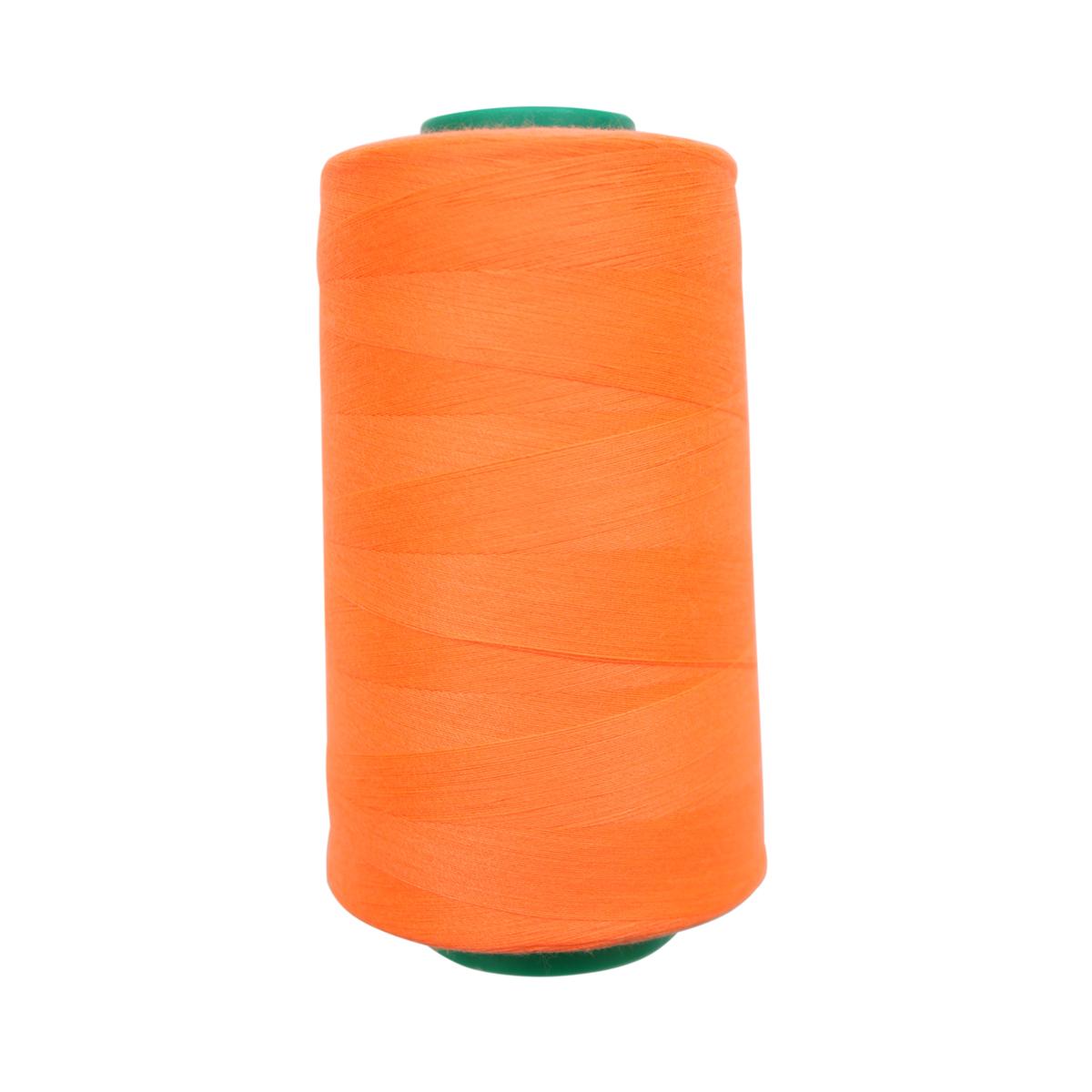 Нитки для шитья Bestex 50/2, 5000 ярд, цвет: неоноранж (399)7700936-399Сфера использования: трикотаж; ткани малого веса; оверлочные швы; отделка краев; вышивка. Размер игл №70-80