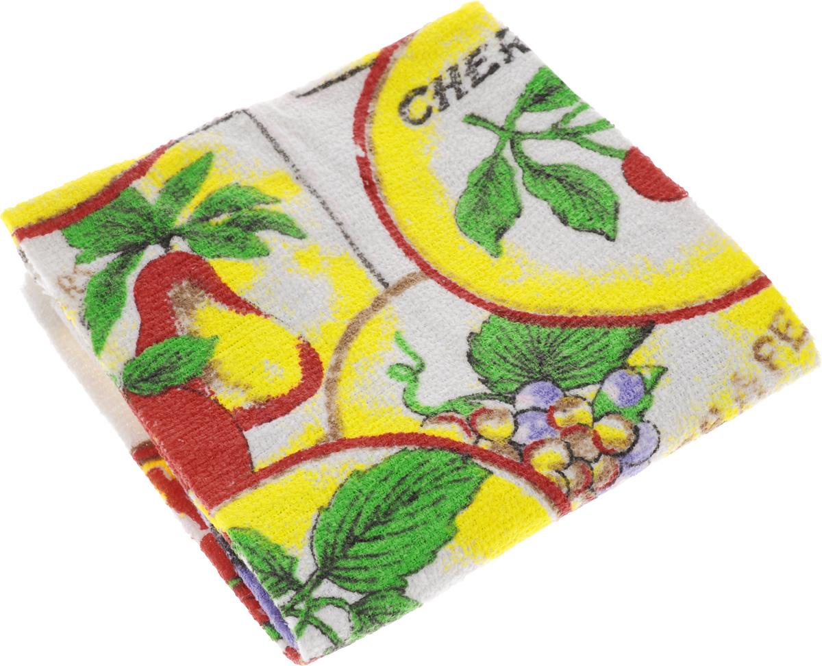 Полотенце кухонное Home Queen Фрукты, 38 х 64 см53498_фруктыКухонное полотенце Home Queen Фрукты, выполненное из 100% хлопка, оформлено ярким рисунком. Изделие предназначено для использования на кухне и в столовой. Такое полотенце станет отличным вариантом для практичной и современной хозяйки.