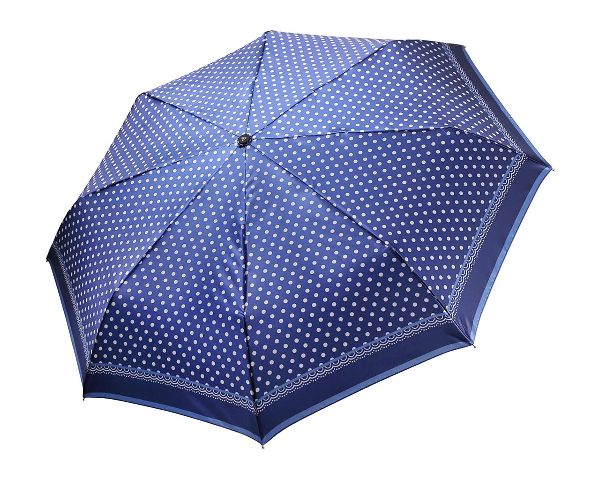 Зонт женский Fabretti, полный автомат, 3 сложения, цвет: мультиколор. S-16101-10S-16101-10Зонт женский Fabretti, суперавтомат, 3 сложения, сатин