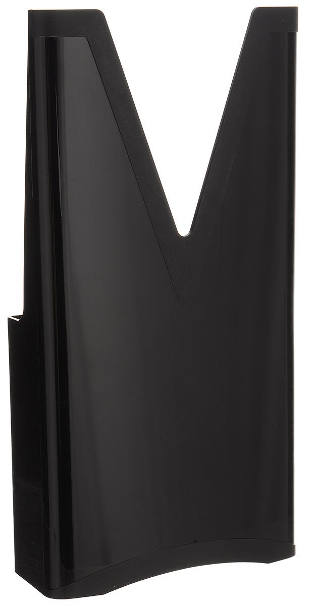 Мультибокс для овощерезки Borner, цвет: черный3410077_черныйМультибокс Borner выполнен из высококачественного пластика. Это важный аксессуар для хранения основного (базового) комплекта овощерезок моделей Профи, Оптима и Вип (V-рама, три вставки, плододержатель). На обратной стороне корпуса мультибокса имеется замок-ограничитель: маленькие дети не смогут достать самостоятельно острые ножи. Размер мультибокса: 27 х 14 х 7,5 см.