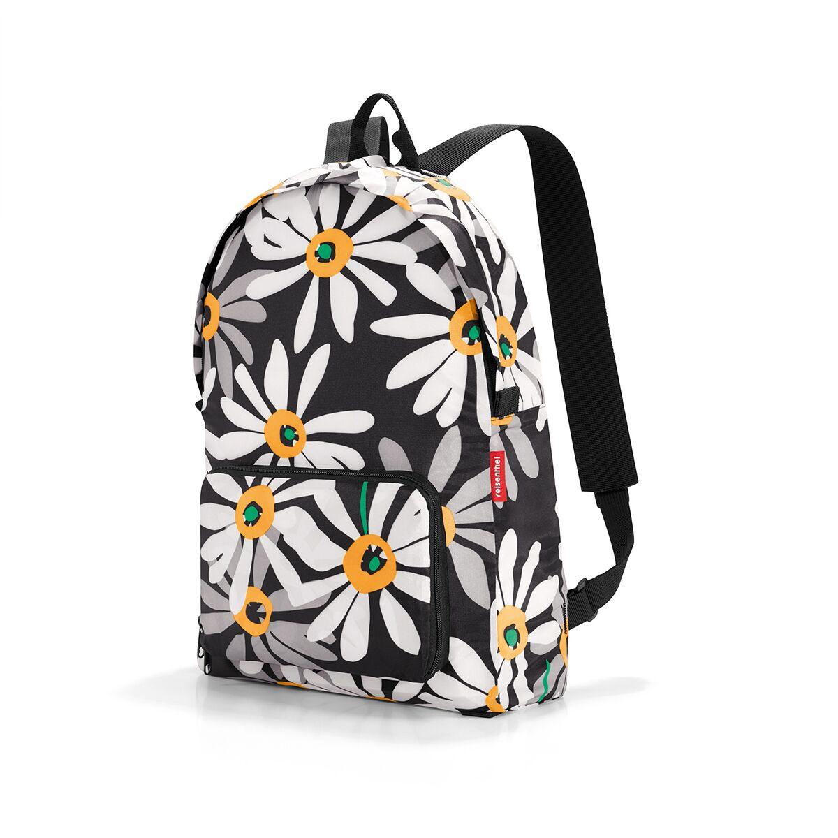 Рюкзак унисекс Reisenthel, цвет: черный. AP7038AP7038Находка для путешествий и походов в магазины: рюкзак, способный уместиться в маленький чехол. Он легко складывается в собственный внешний карман, так что вы всегда можете брать его с собой на всякий случай. Вмещает 14 литров. Широкие лямки позволяют распределить нагрузку равномерно, так что вам не страшны килограммы картошки и тяжелые книги.