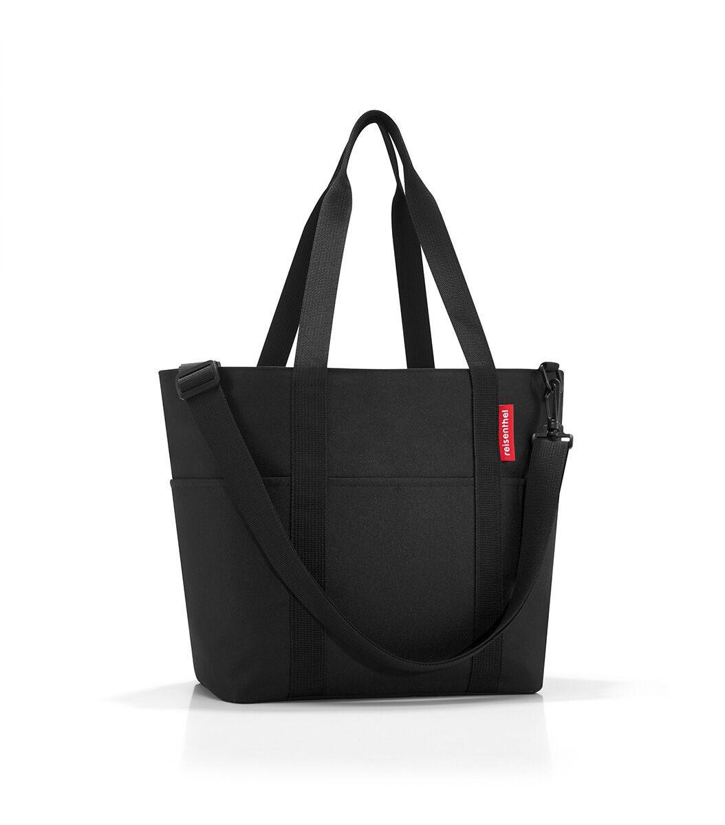 Сумка-шоппер жен. Reisenthel, цвет: черный. MZ7003MZ7003Универсальная сумка для прогулок, пикника или шоппинга. Продуманный дизайн сочетает внешнюю привлекательность и исключительную практичность. Изобилие карманов и отделений помогает держать в порядке даже большое количество разнообразных вещей. - вместительное основное отделение на молнии; - 2 удобные ручки для переноски; - съемный регулируемый наплечный ремень; - 4 внешних и 6 внутренних отделения. - небольшой потайной карман, вшитый в подкладку; - подкладка на дне, обеспечивающая прочность и стойкую форму; - материал: высококачественный водостойкий полиэстер; - объем – 15 литров.