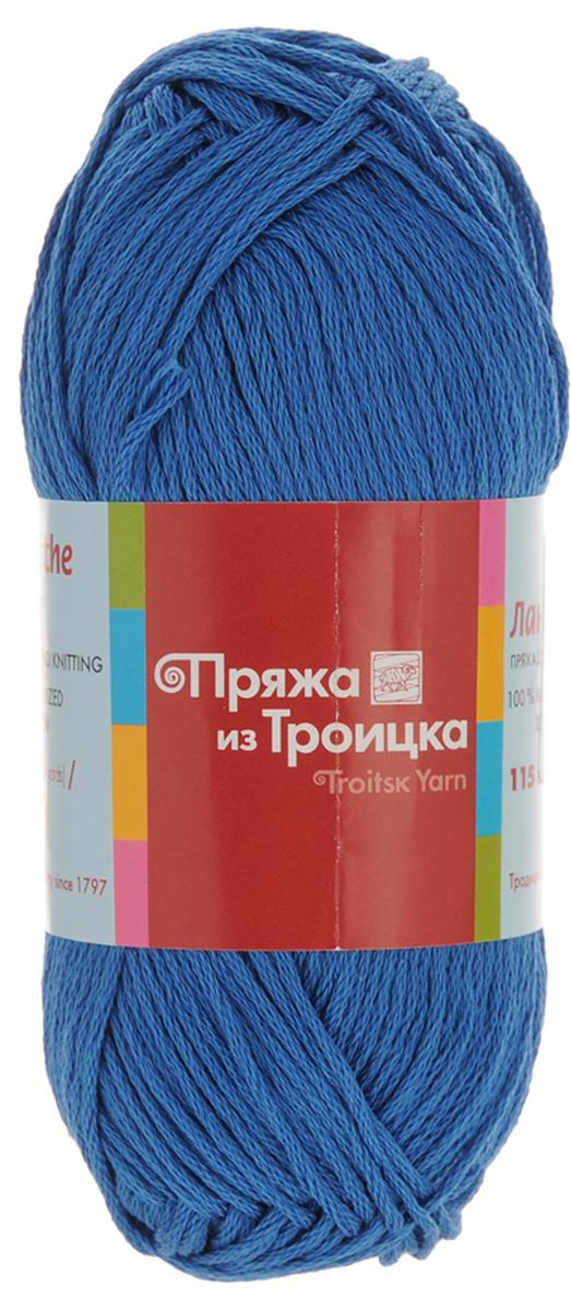 Пряжа для вязания Ландыш, цвет: кобальт (0659), 115 м, 50 г, 10 шт366131_0659Пряжа Ландыш изготовлена из 100% мерсеризованного хлопка и предназначена для ручного вязания. Пряжа, прошедшая обработку под названием мерсеризация, приобретает блеск, ее легко окрасить в яркие устойчивые цвета. Мерсеризованный хлопок мягкий и шелковистый, он хорошо впитывает влагу. Связанный трикотаж получается легкий, гладкий и красивый. С такой пряжей процесс вязания превратится в настоящее удовольствие. Рекомендуемый размер спиц: 3 мм. Состав: 100% мерсеризованный хлопок.